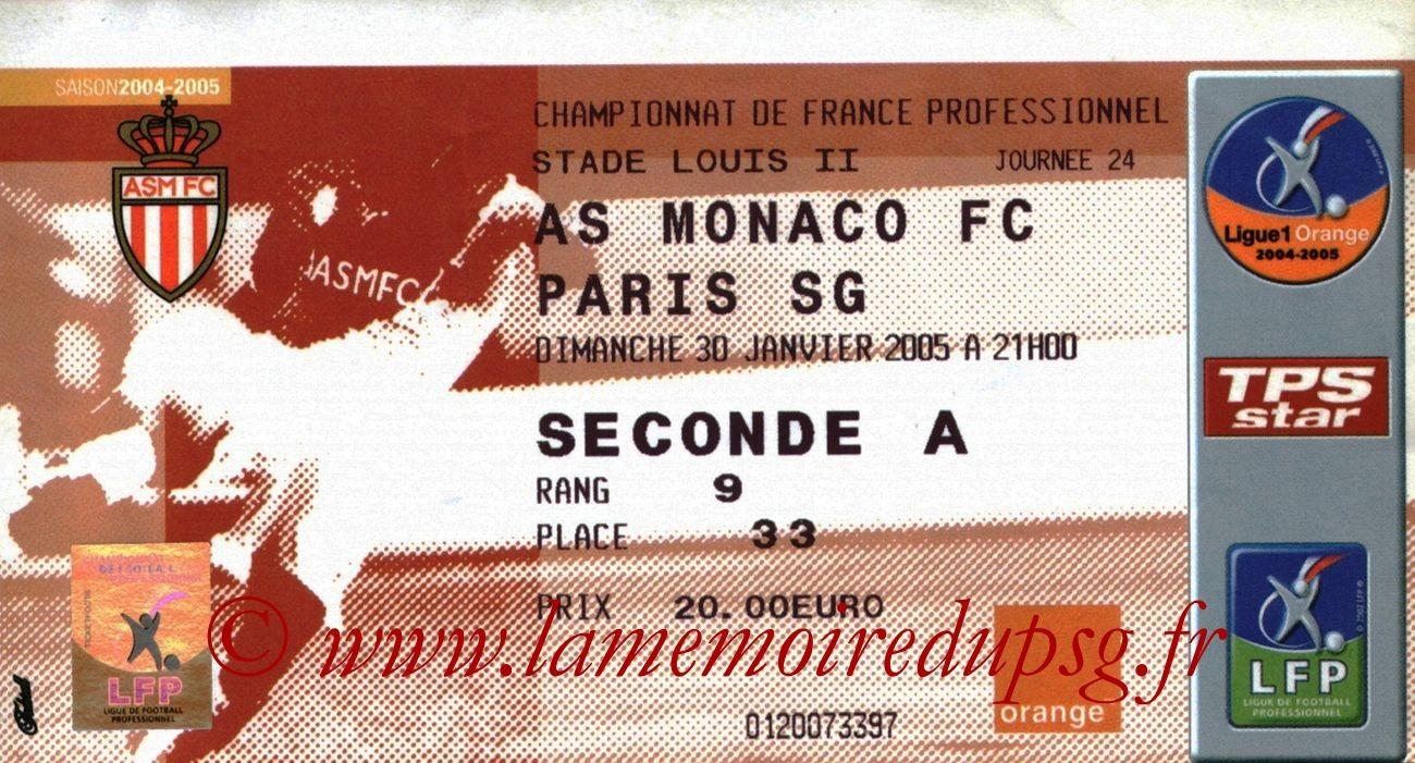 2005-01-30  Monaco-PSG (24ème L1)