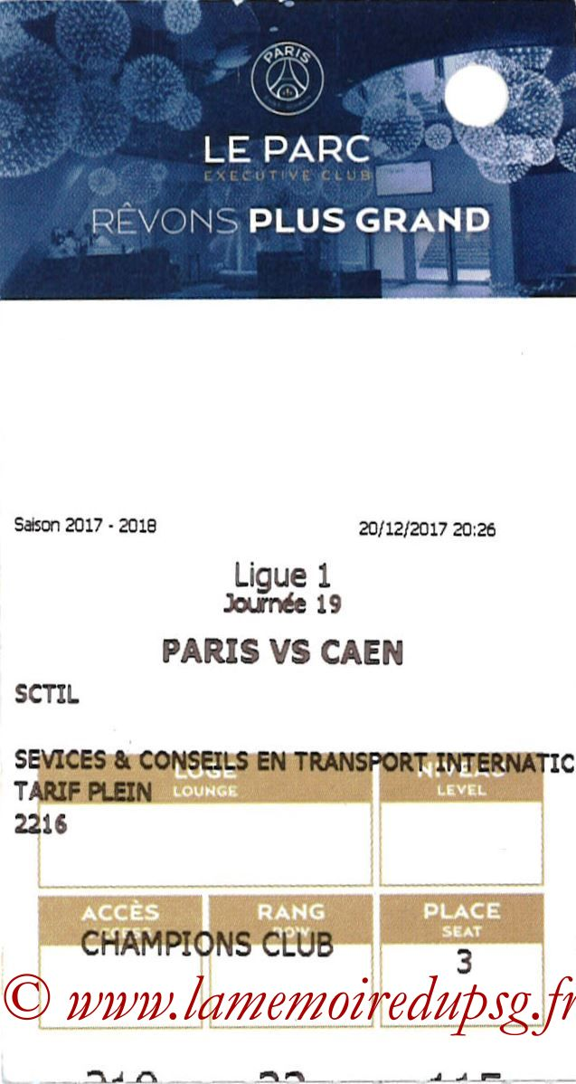 2017-12-20  PSG-Caen (19ème L1, E-ticket Executive club 2)