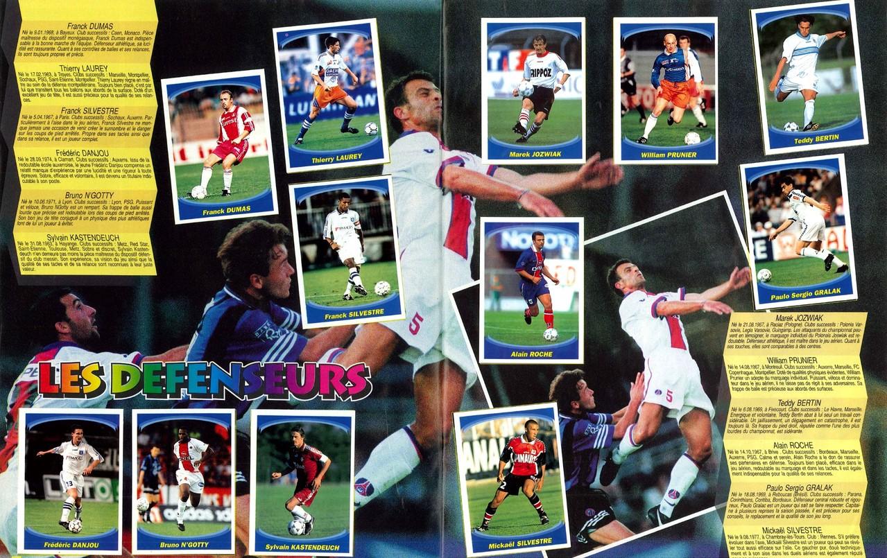1997-98 - Panini Superfoot - Pages 06 et 07 - Les défenseurs