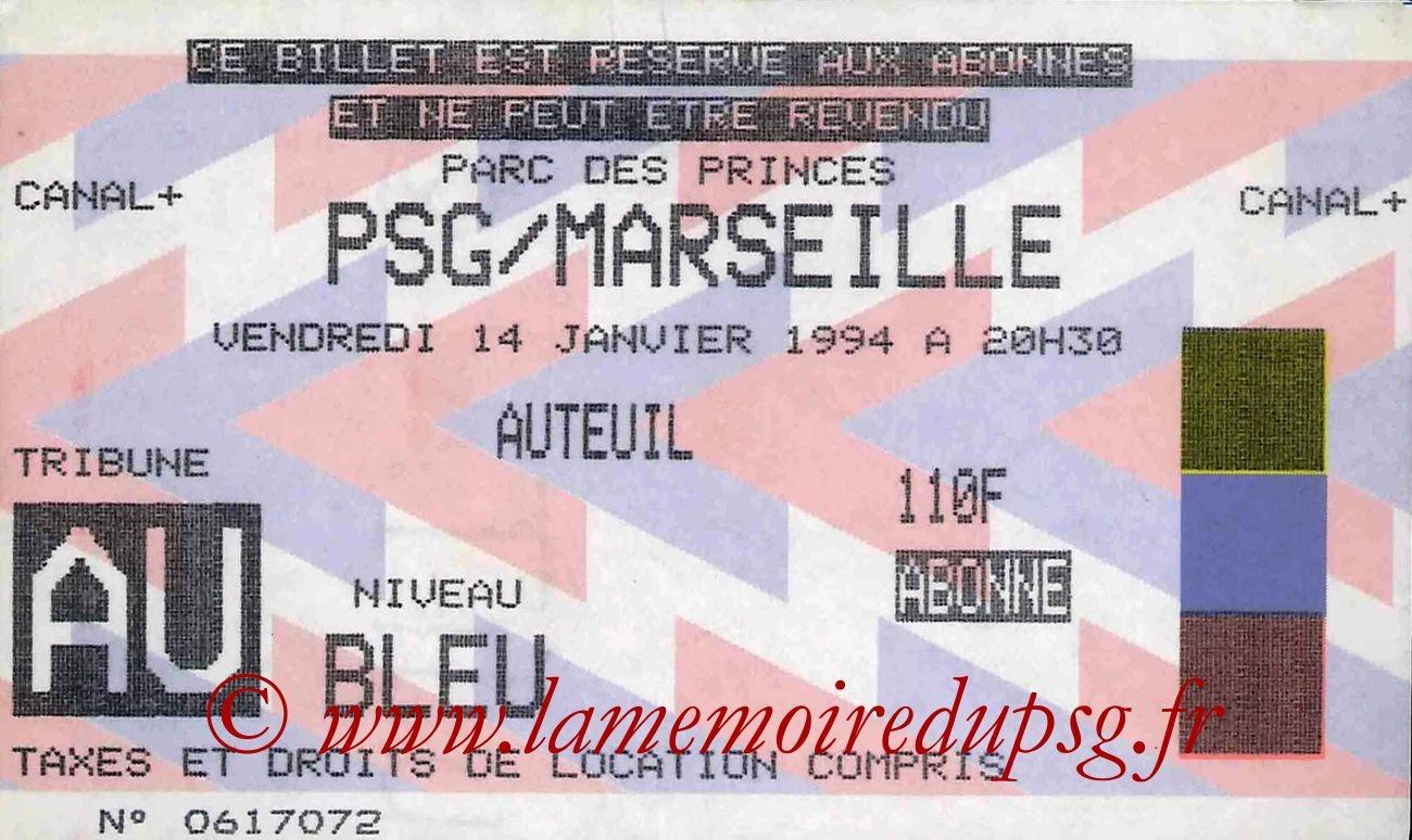 1994-01-14  PSG-Marseille (23ème D1)