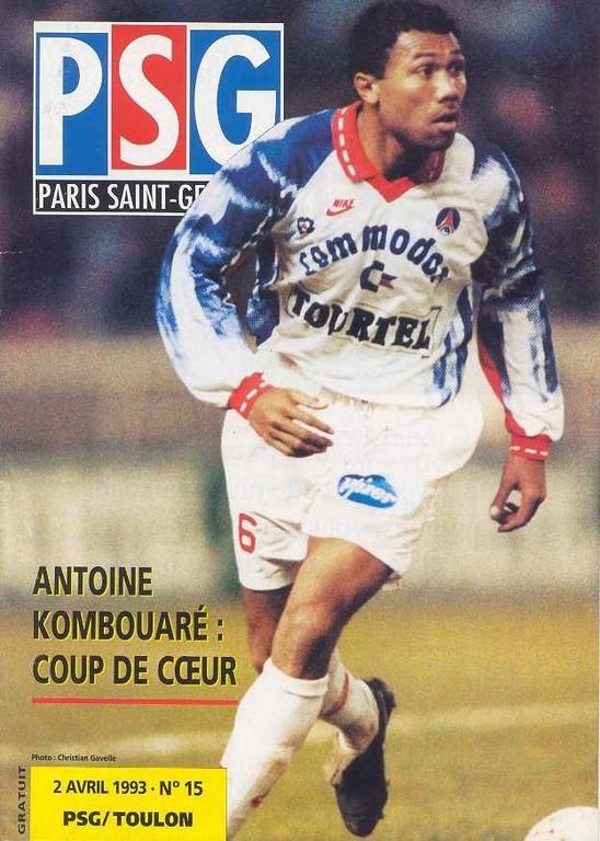 1993-04-02  PSG-Toulon (30ème D1, Le Magazine PSG N°15)