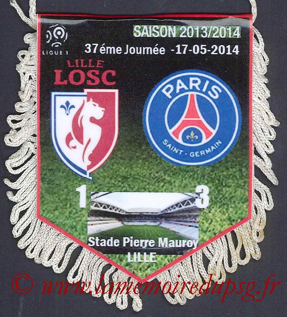 2014-05-17  Lille-PSG (37ème L1)