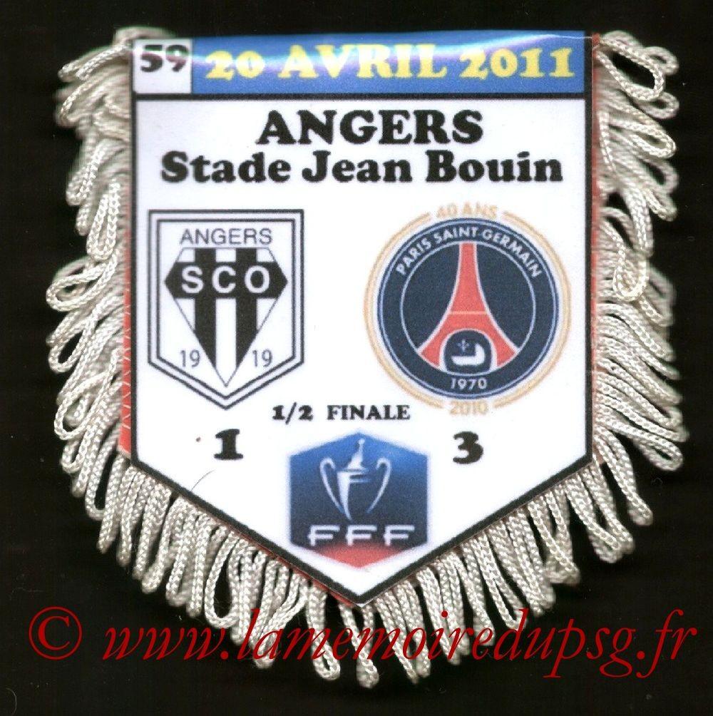 2011-04-20  Angers-PSG (Demi-Finale CF)