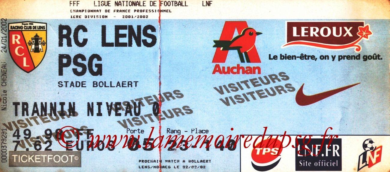 2002-01-24  Lens-PSG (22ème D1)
