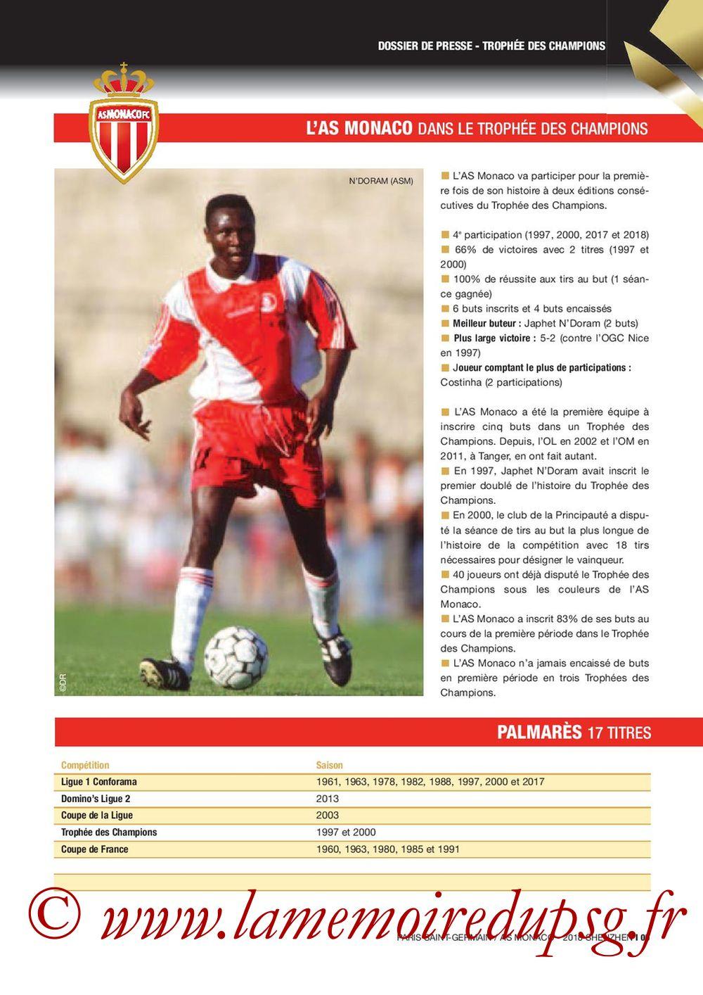 2018-08-04  PSG-Monaco (Trophée des Champions à Shenzhen, Dossier de Presse) - Page 05