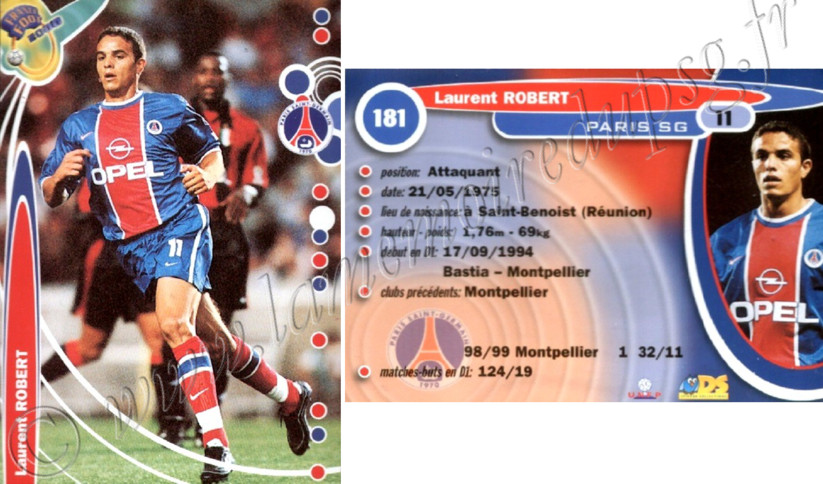 N° 181 - Laurent ROBERT