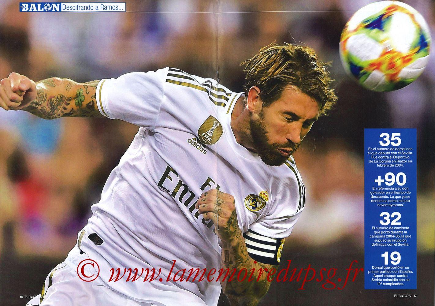 2019-11-26  Real Madrid-PSG (5ème C1, El Balon in the Game N°74) - Pages 16 et 17