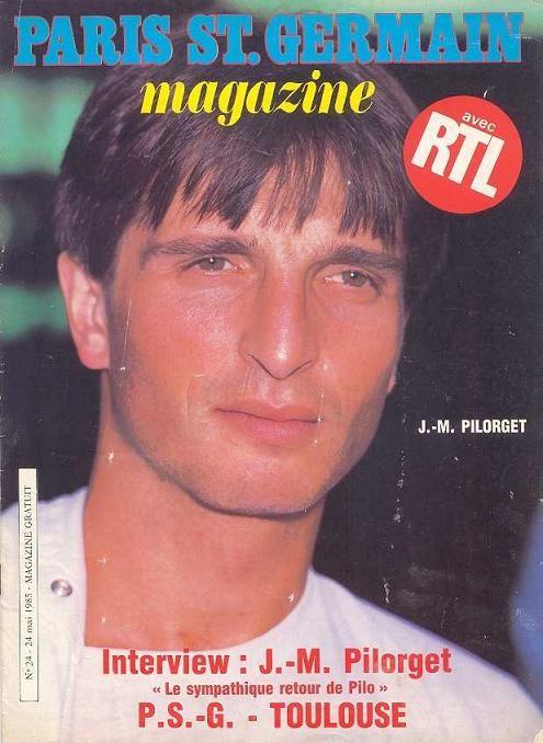 1985-05-24  PSG-Toulouse (37ème D1, Paris SG Magazine N°24)