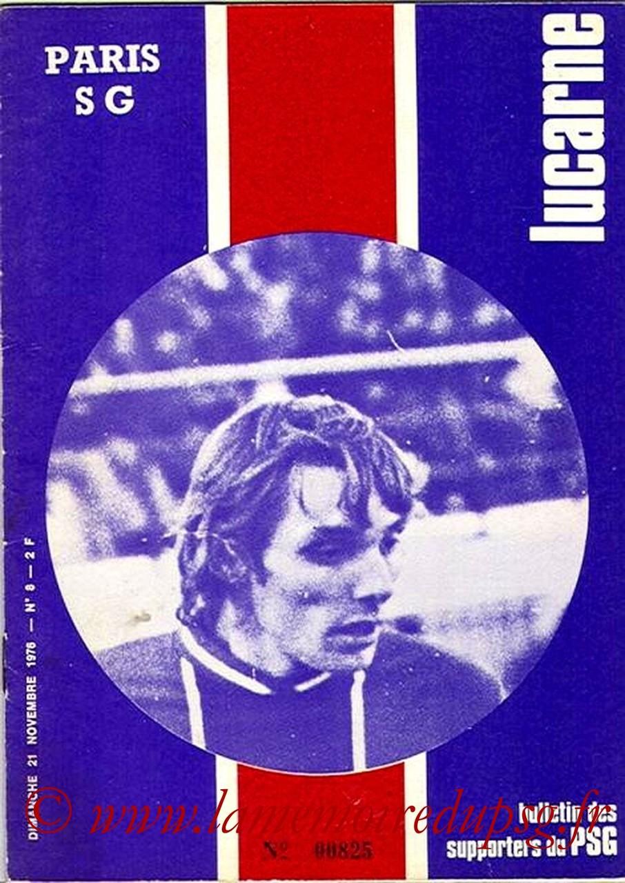 1976-11-21  PSG-Metz (15ème D1, Lucarne N°8)