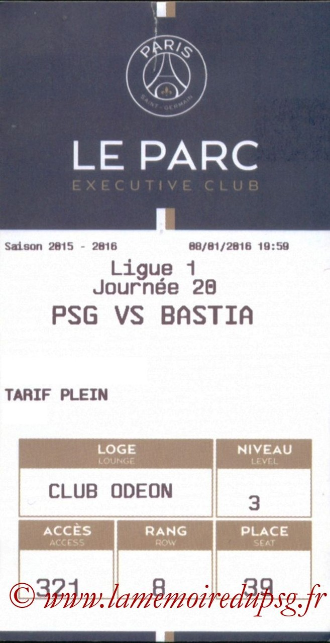 2016-01-08  PSG-Bastia (20ème L1, E-ticket Executive club)
