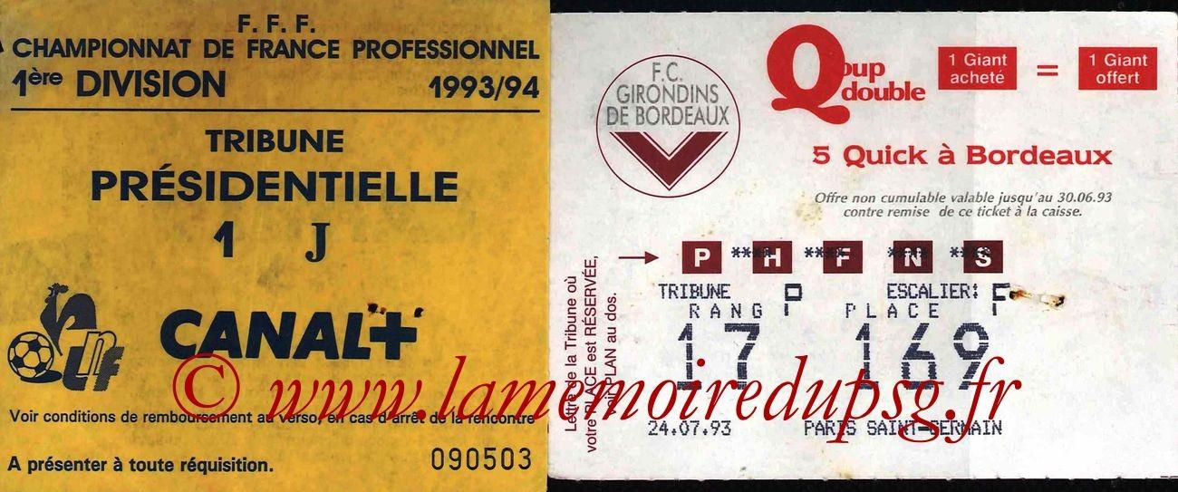 1993-07-24  Bordeaux-PSG (1ère D1, Sans nom)