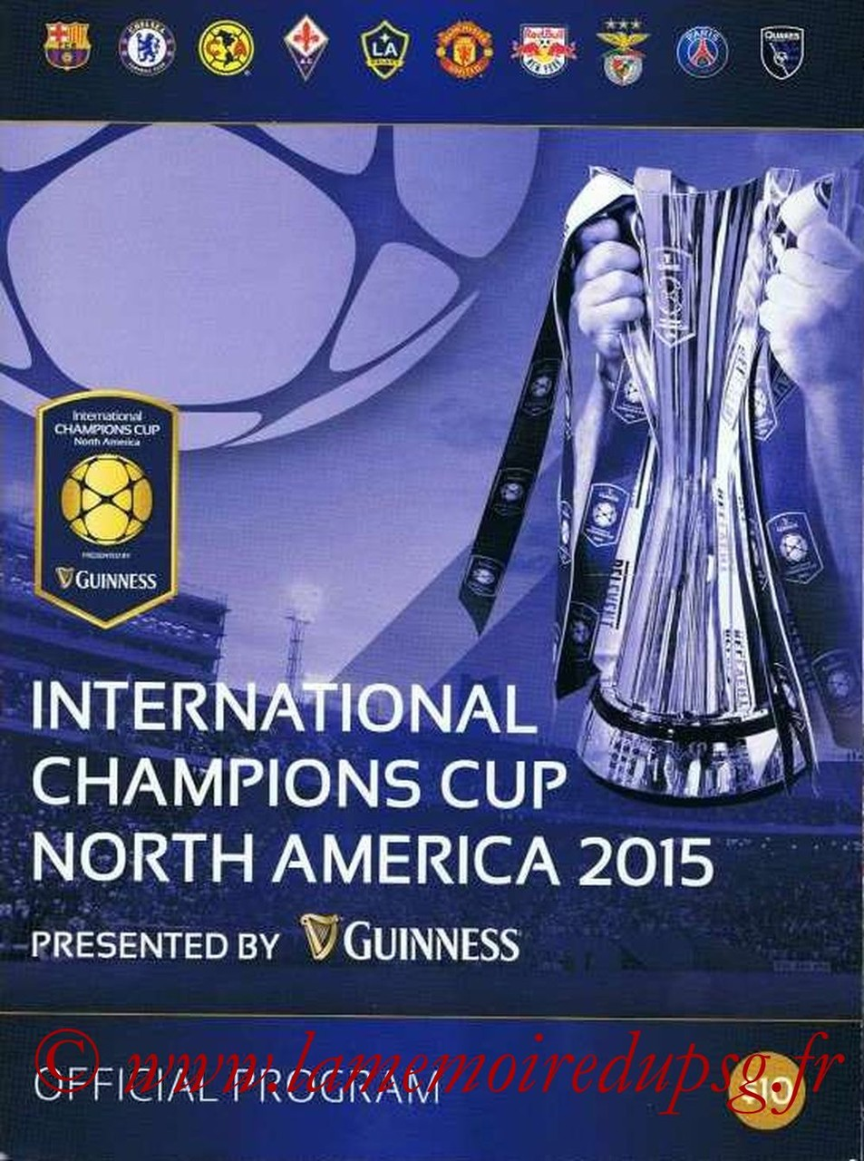 2015-07  Programme officiel International Champions Cup
