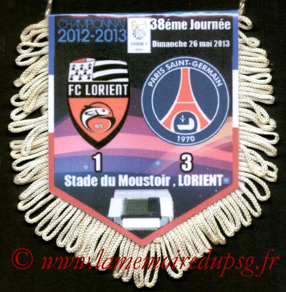 2013-05-26  Lorient-PSG (38ème L1)