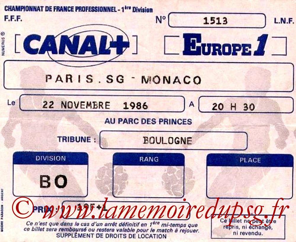 1986-11-22  PSG-Monaco (18ème D1)