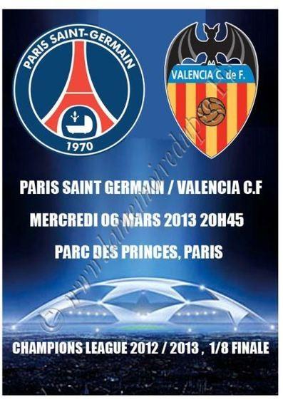 2013-03-06  PSG-FC Valence (8ème Finale Retour C1, Programme pirate)