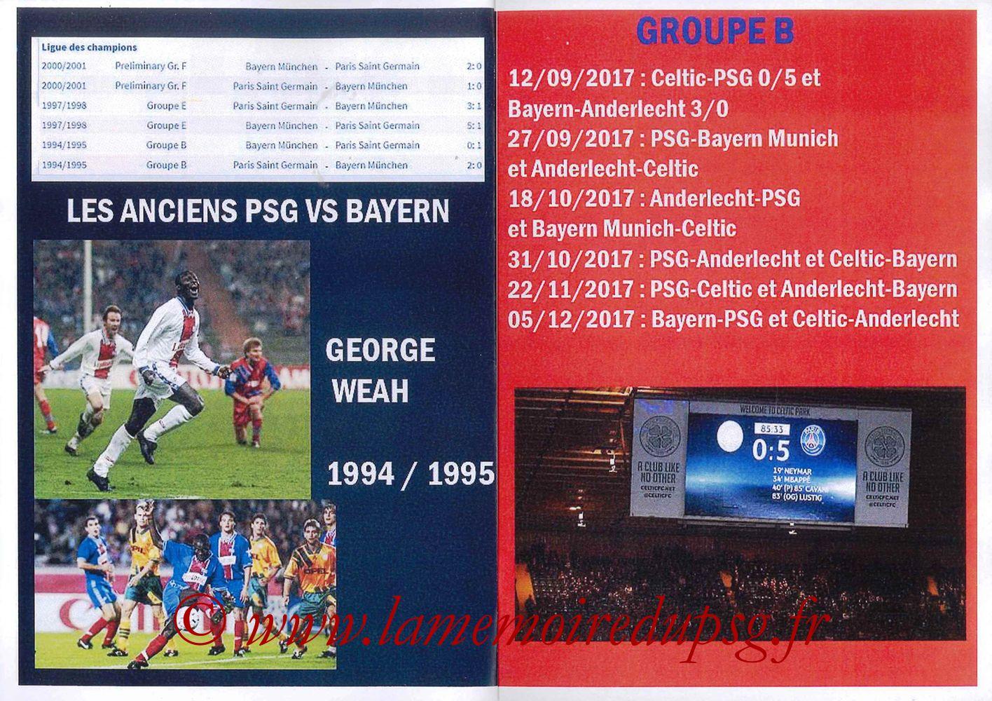2017-09-27  PSG-Bayern (2ème Poule C1, Programme pirate) - Pages 06 et 07