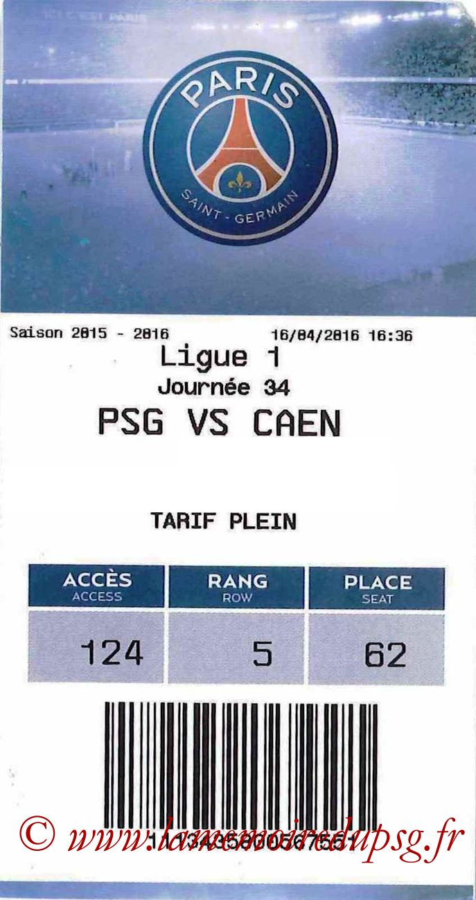 2016-04-16  PSG-Caen (34ème L1, E-ticket)