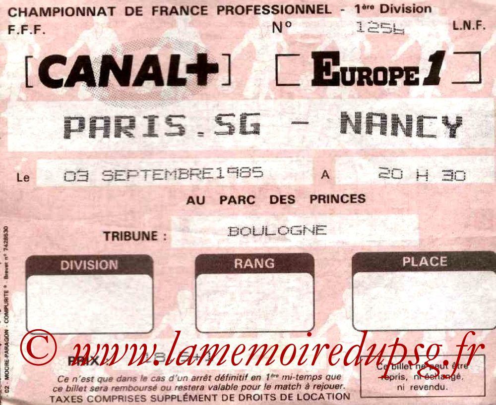 1985-09-03  PSG-Nancy (10ème D1)