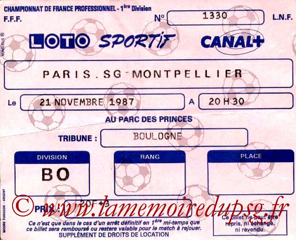 1987-11-21  PSG-Montpellier (20ème D1)