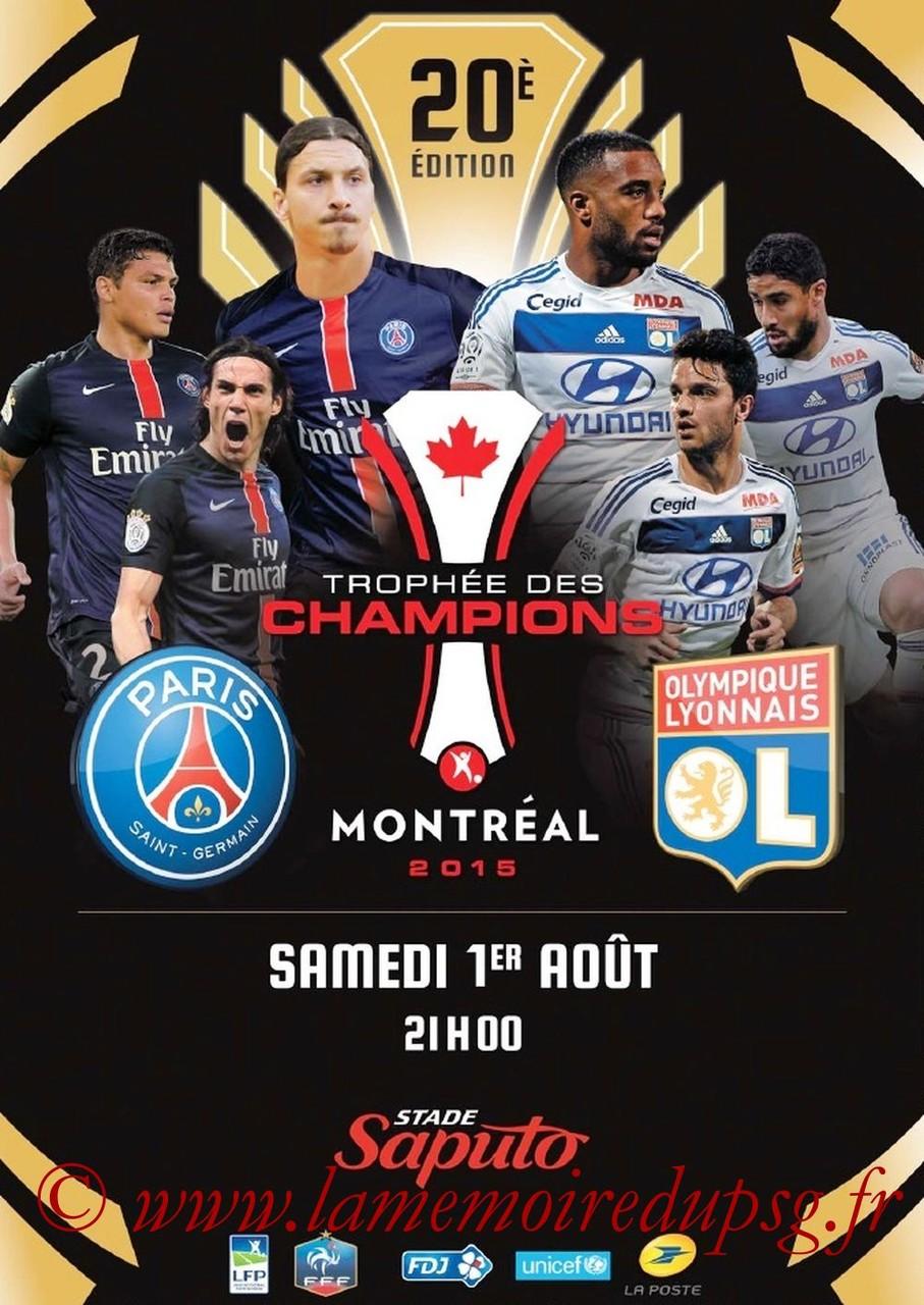 2015-08-01  PSG-Lyon (Trophée des champions à Montréal, dossier de presse)