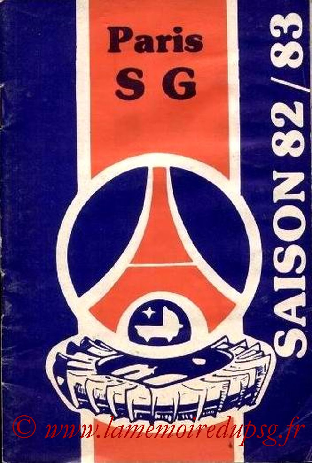 1982-83 - Guide de la Saison PSG