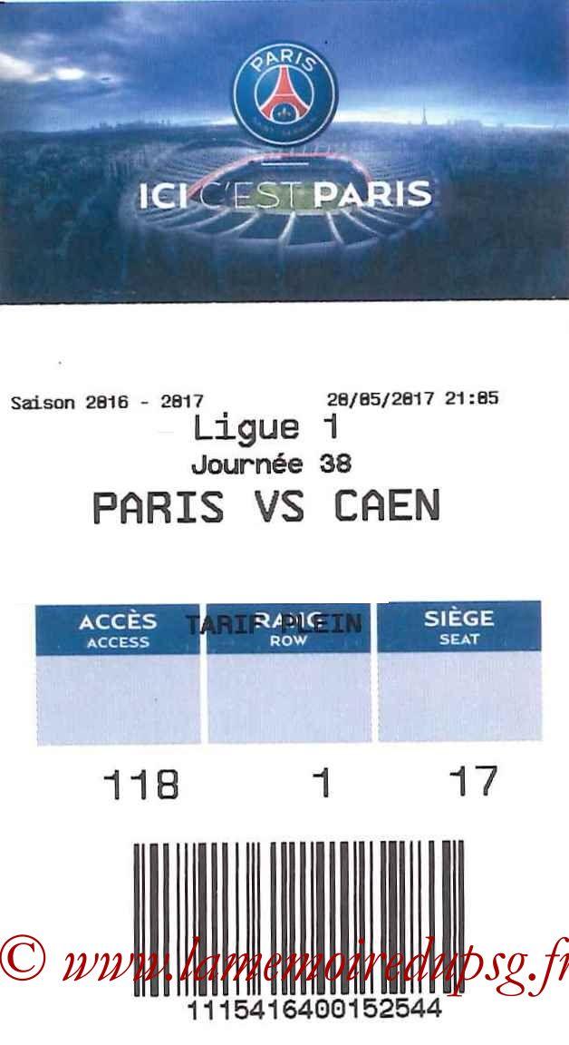 2017-05-20  PSG-Caen (38ème L1, E-ticket bis)