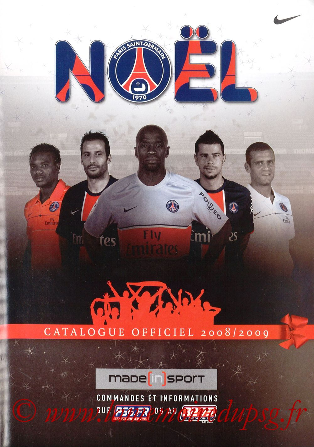 Catalogue PSG - 2008-09 - Noêl