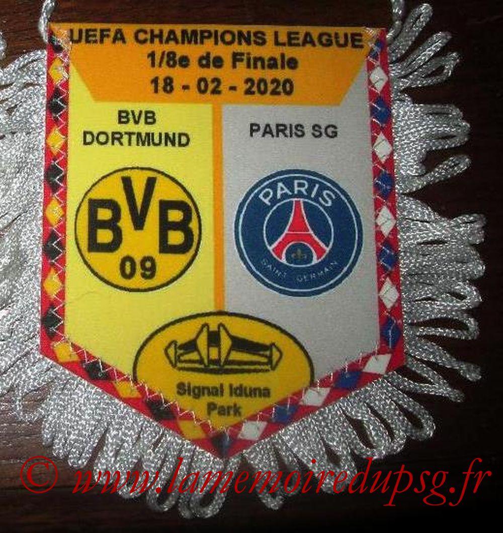 2020-02-18  Borussia Dortmund-PSG (8ème C1 Aller)