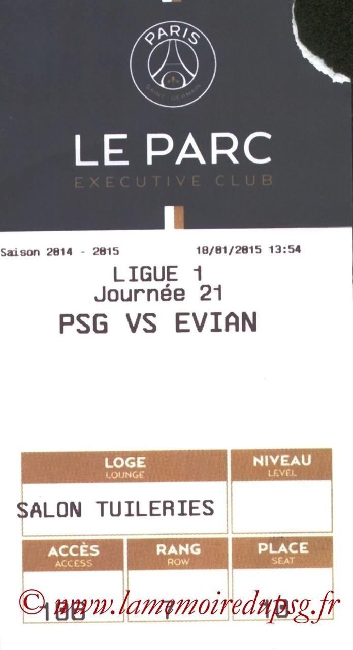 2015-01-18  PSG-Evian (21ème L1, E-ticket)