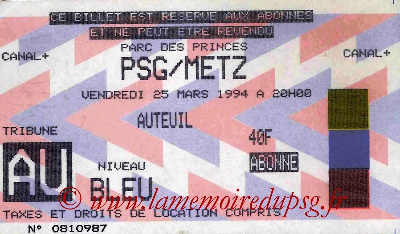 1994-03-25  PSG-Metz (31ème D1)