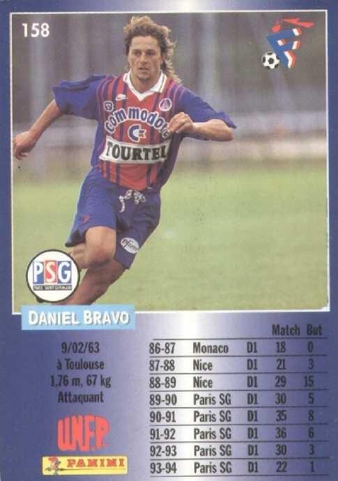 N° 158 - Daniel BRAVO (Verso)