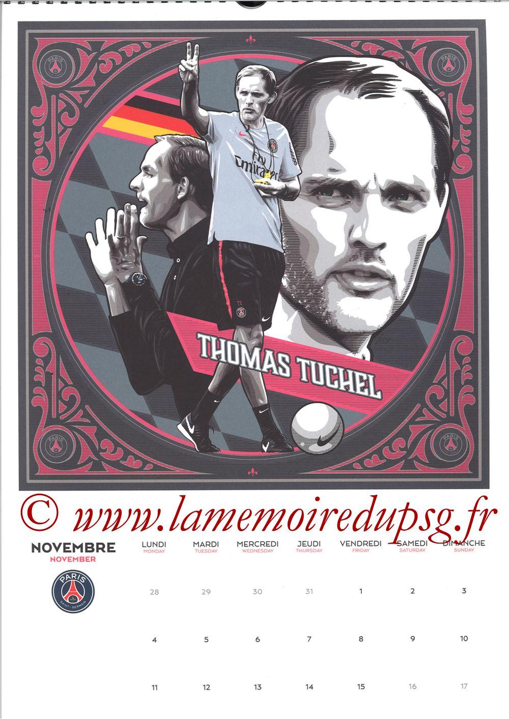 Calendrier PSG 2019 - Page 21 - Thomas TUCHEL