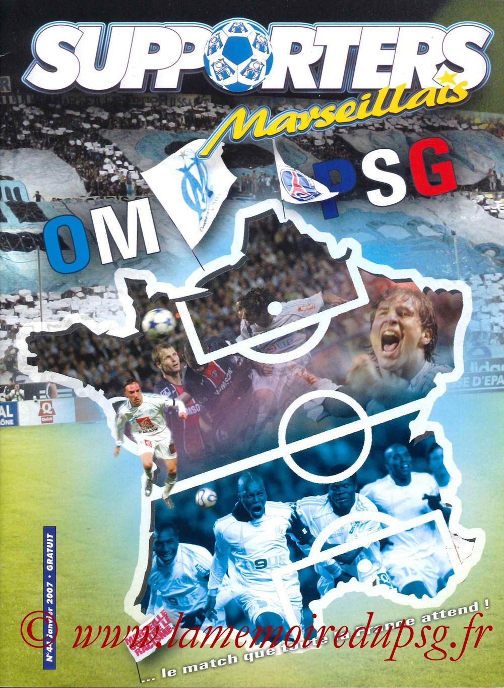 2007-02-04  Marseille-PSG (23ème L1, Supporters Marseillais N°44)