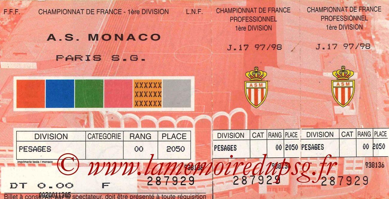 1997-11-20  Monaco-PSG (17ème D1)