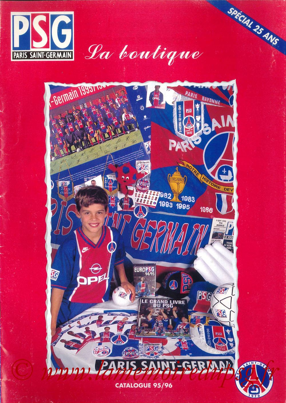 Catalogue PSG - 1995-96