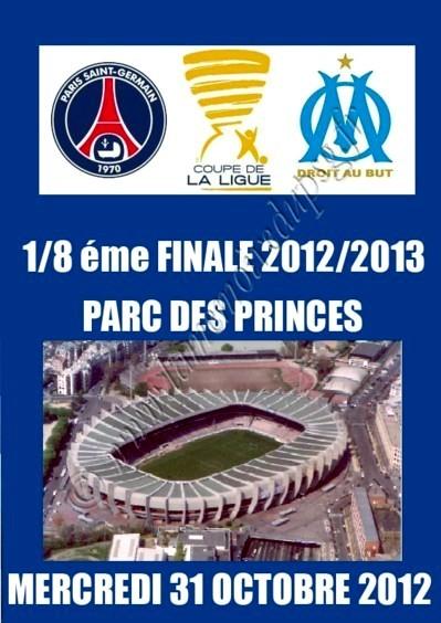 2012-10-31  PSG-Marseille (8ème Finale CL, Programme pirate)
