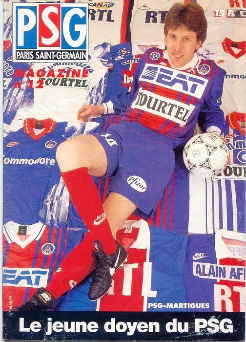1994-03-06  PSG-Martigues (29ème D1, PSG Magazine N°12)