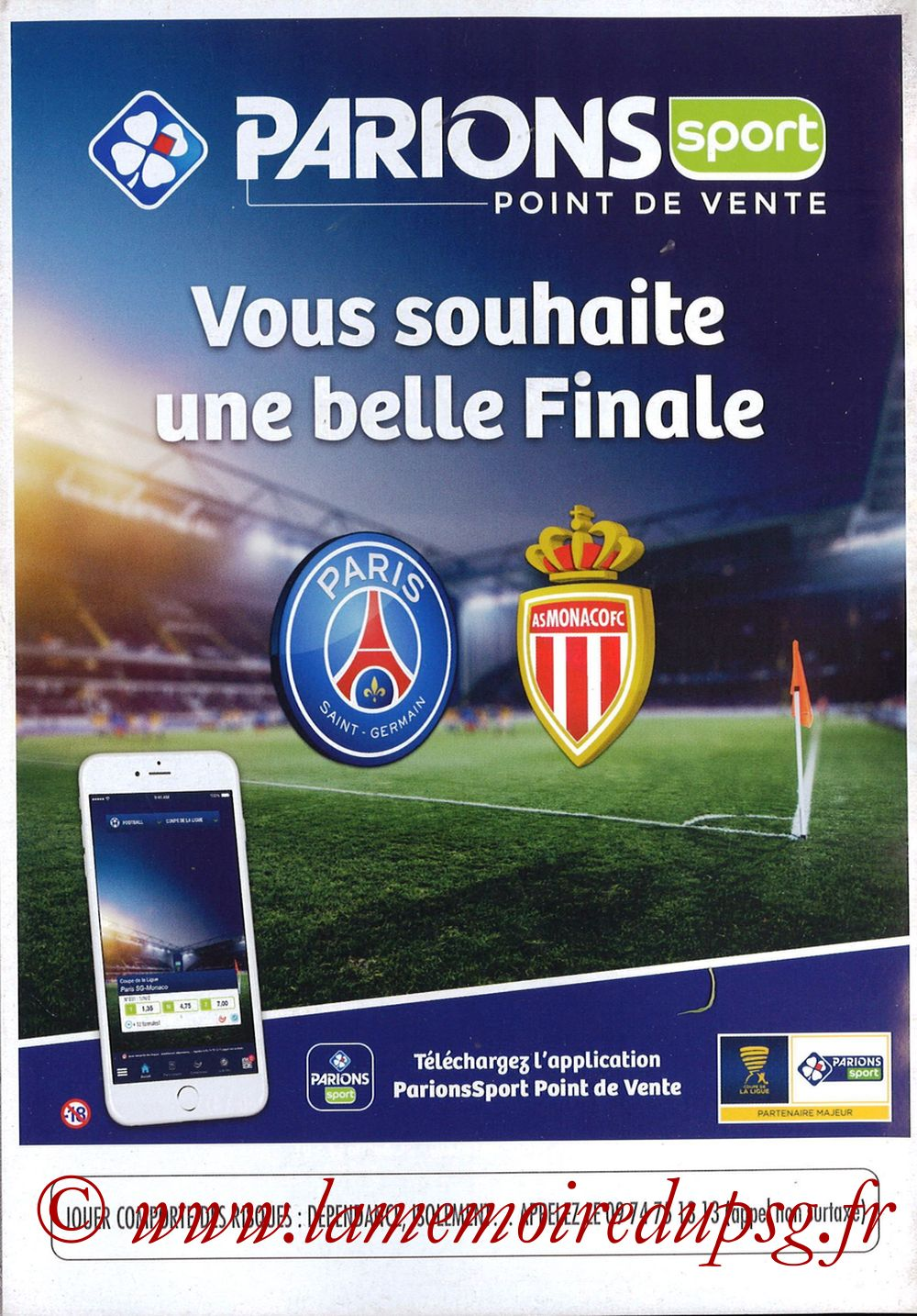 2018-03-31  PSG-Monaco (Finale CL à Bordeaux) - Pages 20