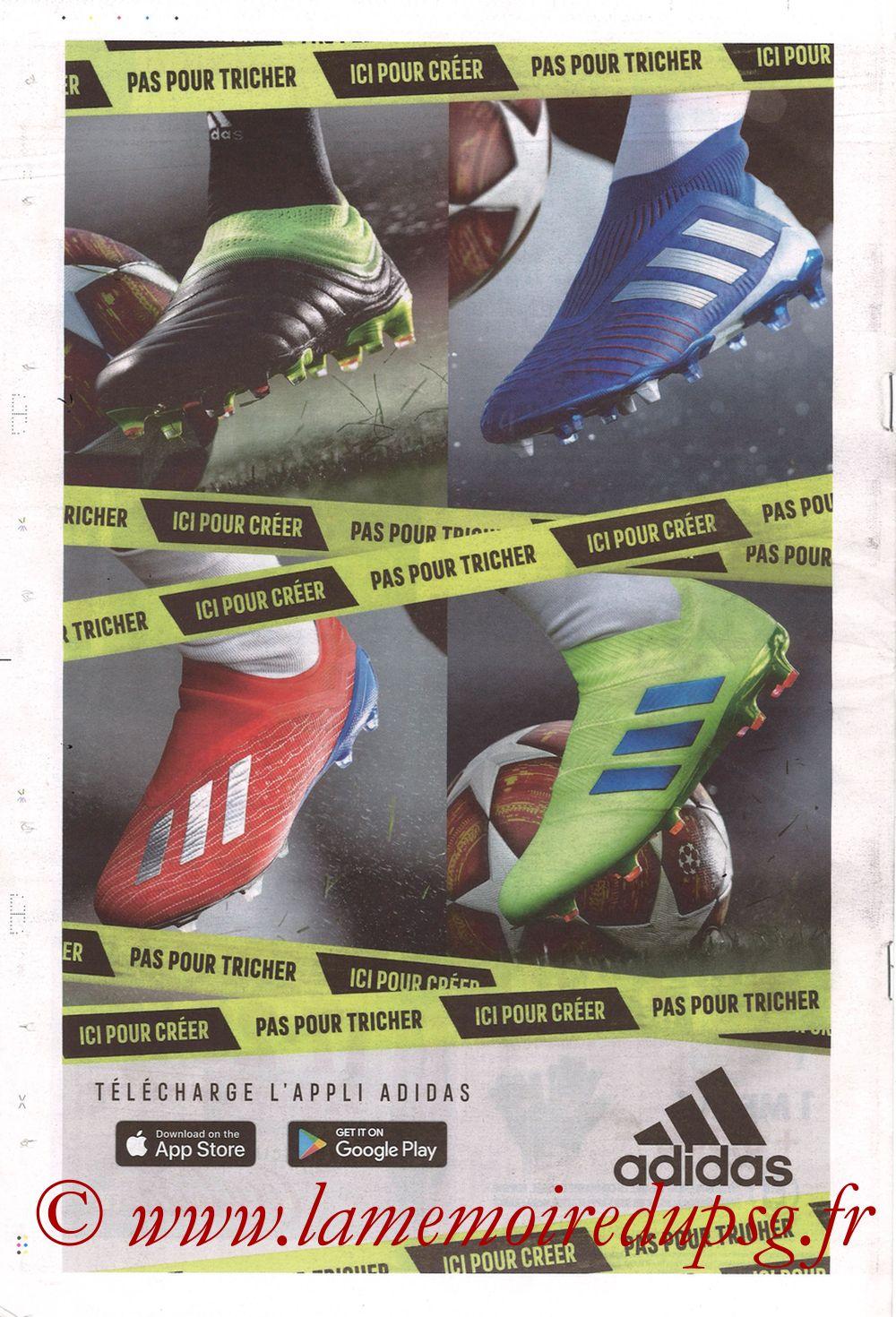 2019-02-03  Lyon-PSG (23ème L1, La Tribune OL N°270) - Page 24