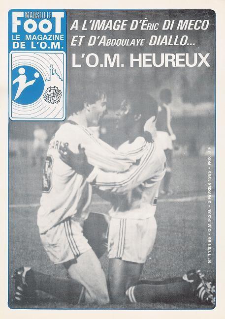 1985-02-03  Marseille-PSG (24ème D1, Marseille Foot N°11)