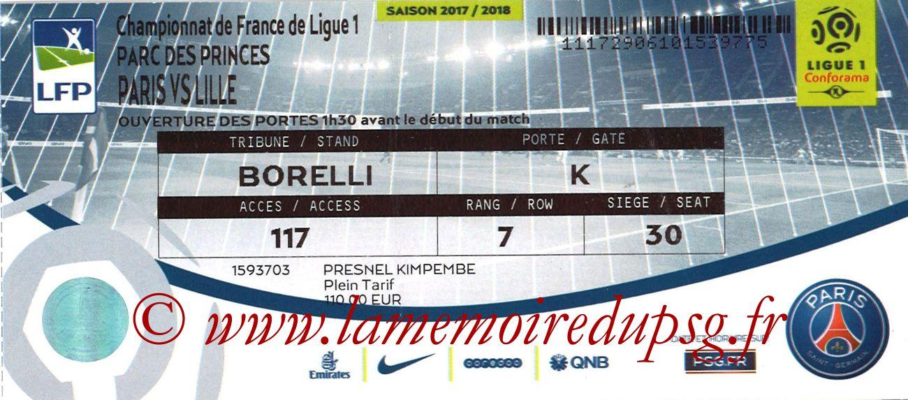 2017-12-09  PSG-Lille (17ème L1 bis)