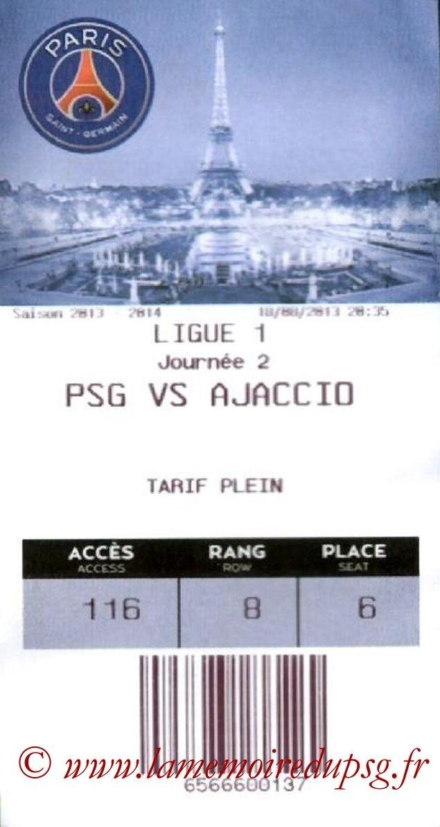 2013-08-18  PSG-Ajaccio (2ème L1, E-Ticket)