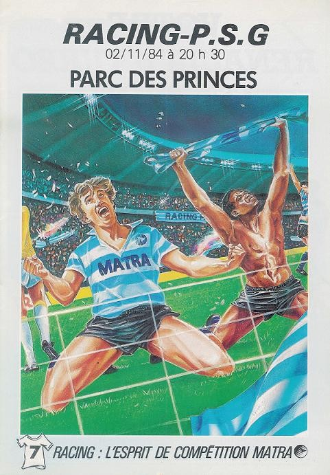1984-11-02  Racing Paris-PSG (15ème D1, Officiel)