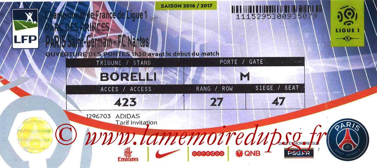 2016-11-19  PSG-Nantes (13ème L1bis)