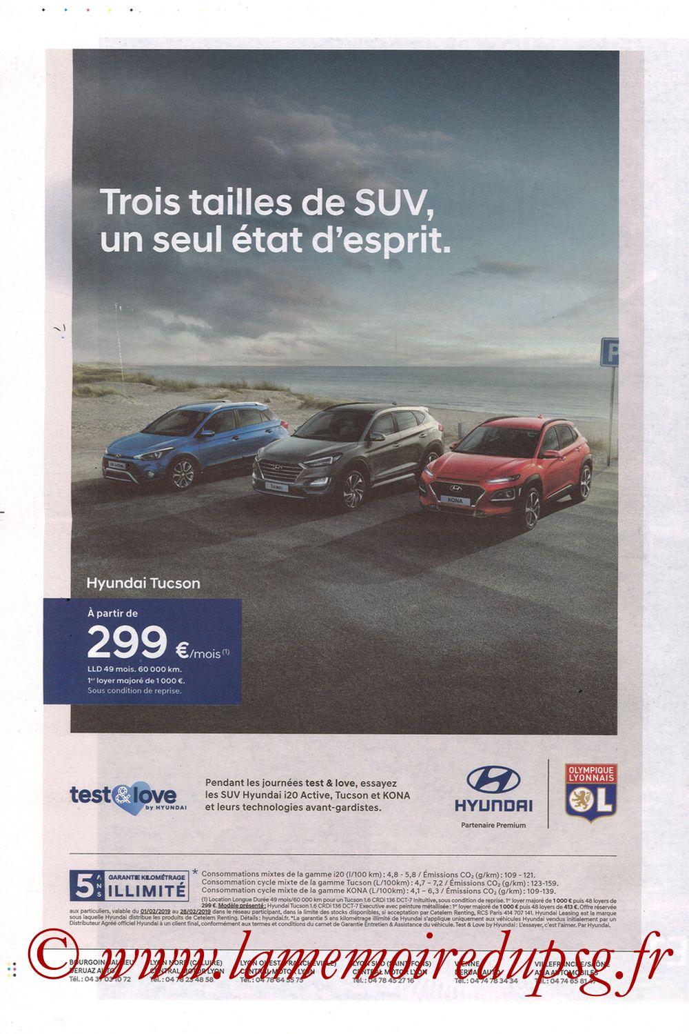2019-02-03  Lyon-PSG (23ème L1, La Tribune OL N°270) - Page 12