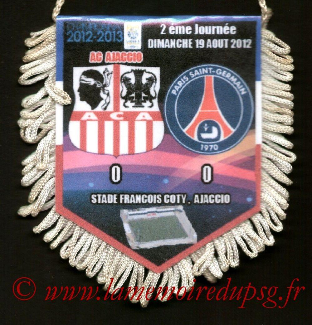 2012-08-19  Ajaccio-PSG (2ème L1)