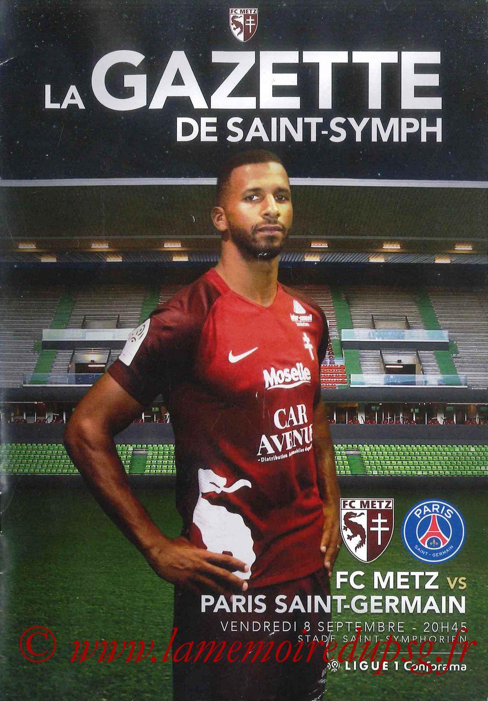 2017-09-08  Metz-PSG (5ème L1, La Gazette de Saint-Symph)