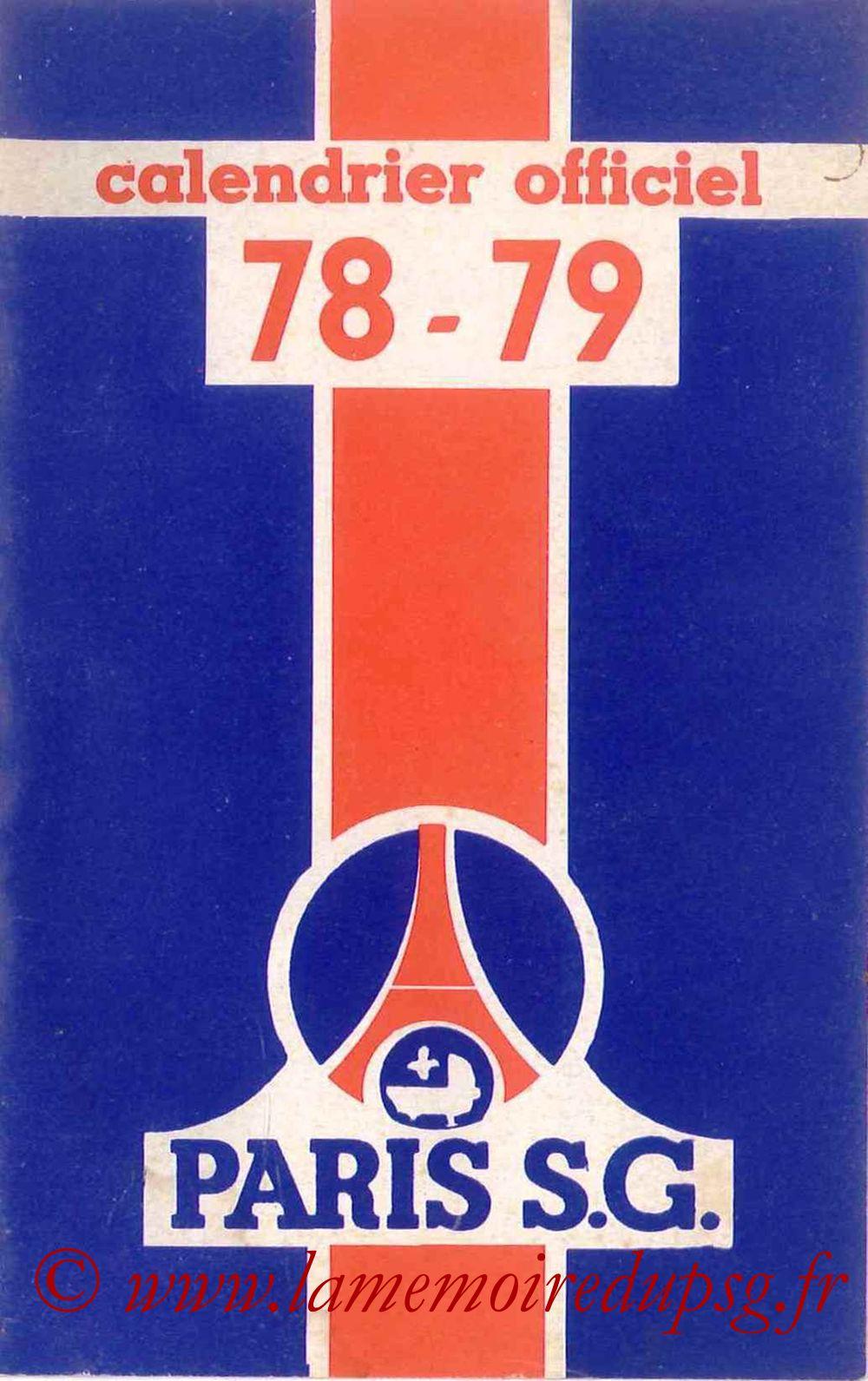 1978-79 - Guide de la Saison PSG - Couverture