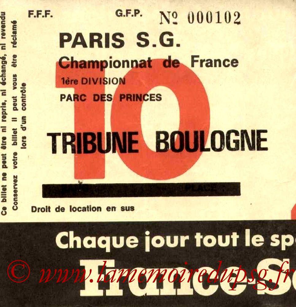 1977-01-08  PSG-Nice (20ème D1, Sans nom N°10)