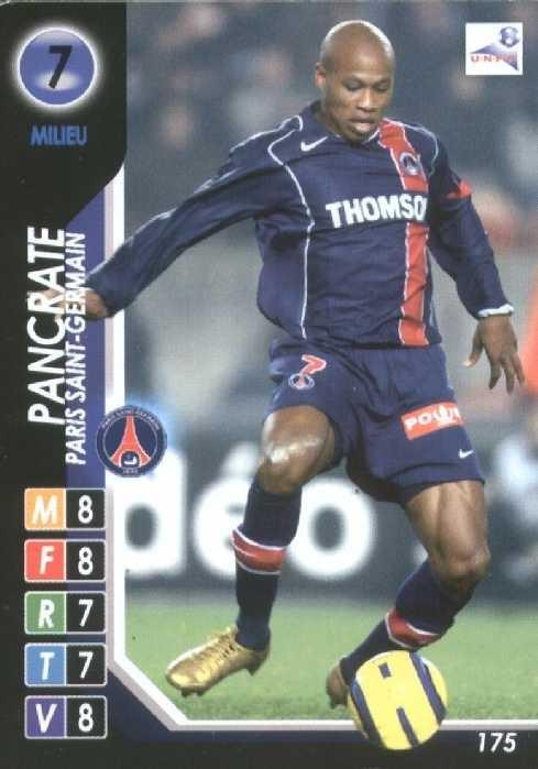 N° 175 - Fabrice PANCRATE